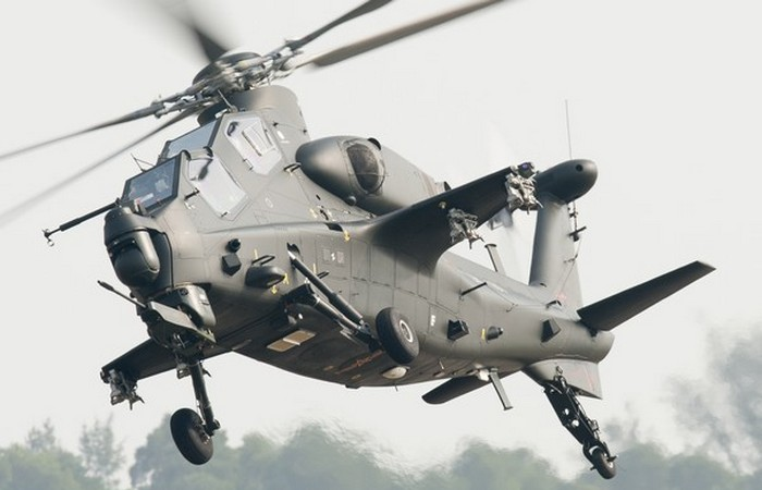 Вертолет Z-10. Китай.