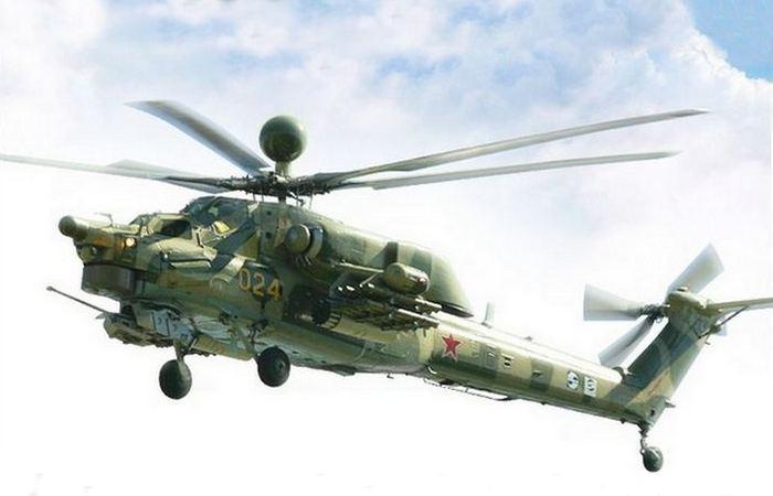 Вертолет Ми-28 «Ночной охотник». Россия.