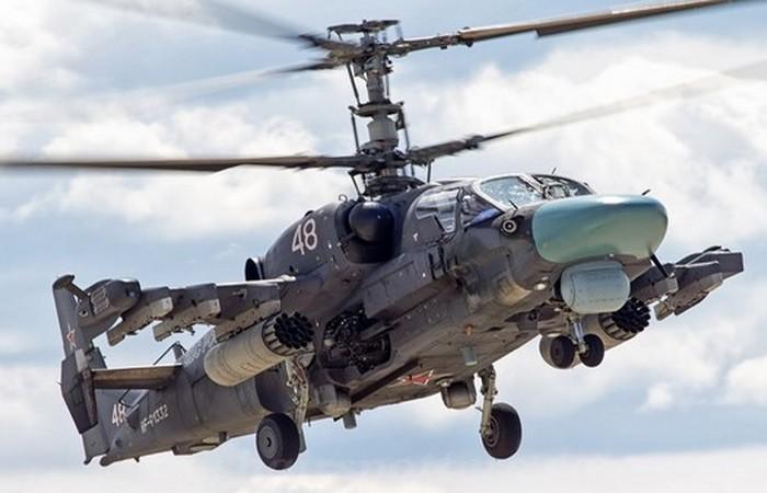 Вертолет Ка-52 «Аллигатор». Россия.