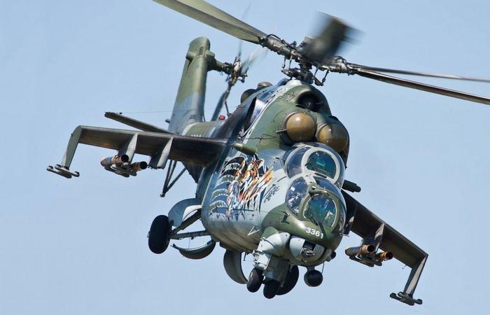 Самый «воюющий» в мире вертолет Ми-24 «Лань».