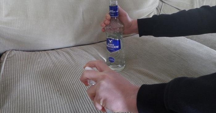 Чистить водкой можно вообще все.