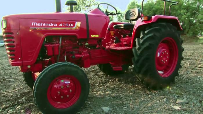 Стильный для трактора.