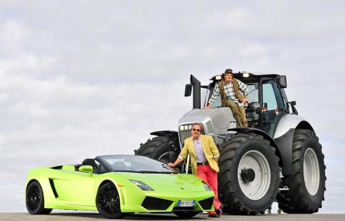 Трактора от именитых производителей.