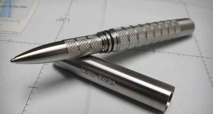 Ручка, которая будет писать даже в самых тяжелых условиях.