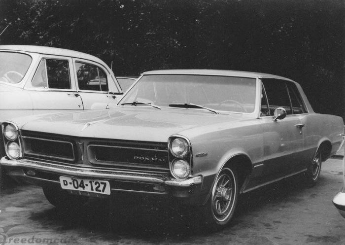 Машина американского дипломата.