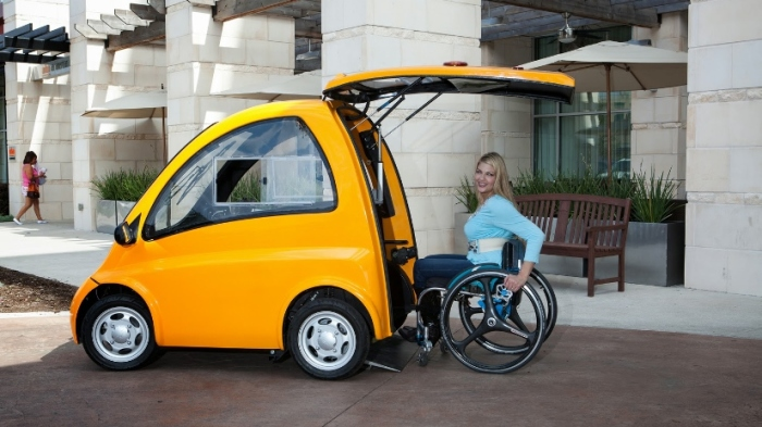 Электрокар для инвалидов.