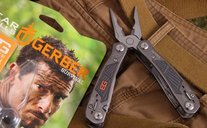 Порадуй своего внутреннего Робинзона с Gerber Bear Grylls Ultimate Multi-tool.
