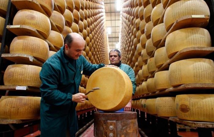 Они слушают, как звучит сыр.