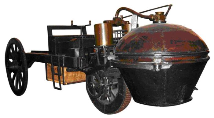 Первые машины были примерно такими.