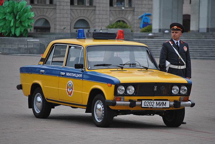 Внутренние службы получали лучшие авто. |Фото: yandex.by.