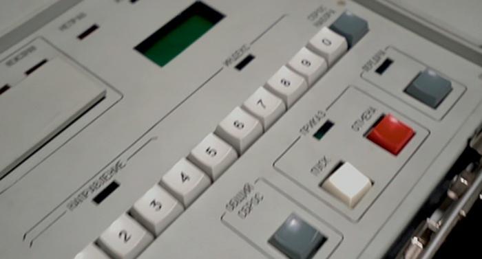 Любопытно, что кнопка запуска - белая. /Фото: popmech.ru.