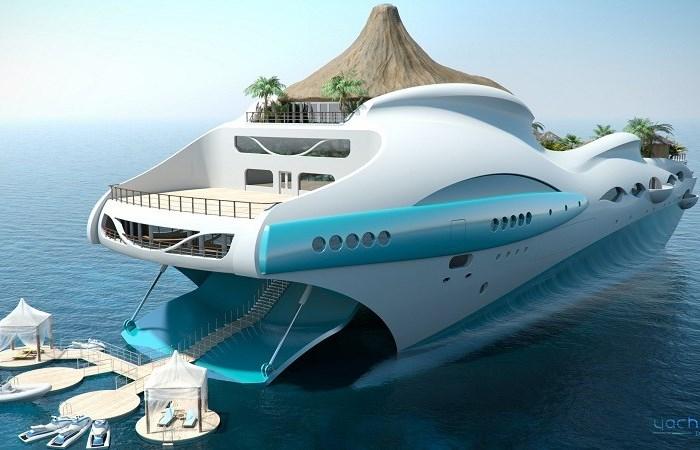 Самые роскошные и странные яхты в мире.