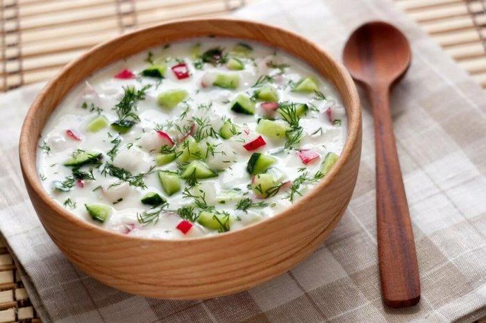 Холодный суп немцам не пришелся по вкусу. /Фото: yandex.ru.