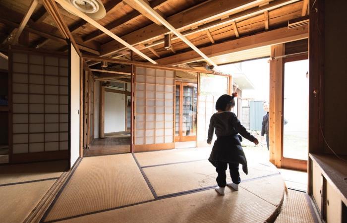 Уникальный японский дом.