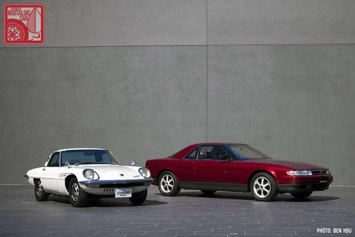 Красота и качество в Mazda Eunos Cosmo.