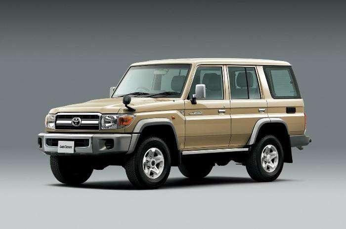 Лучший внедорожник - Toyota Land Cruiser 70.