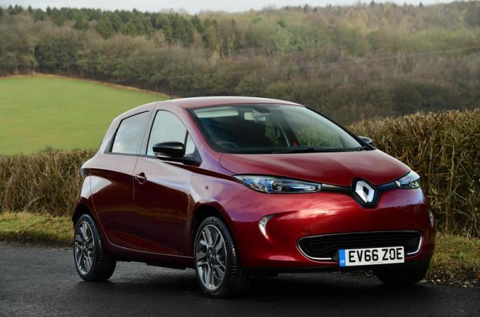 Выглядит Renault ZOE мило.