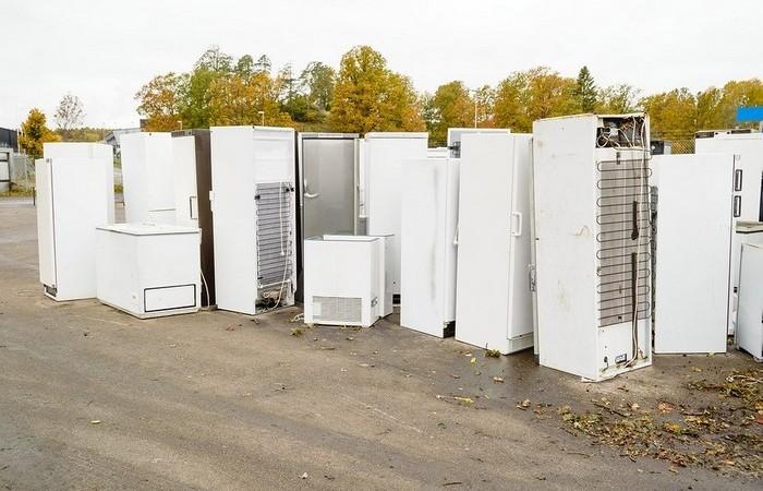 Сколько ценного металла можно получить из старого холодильника