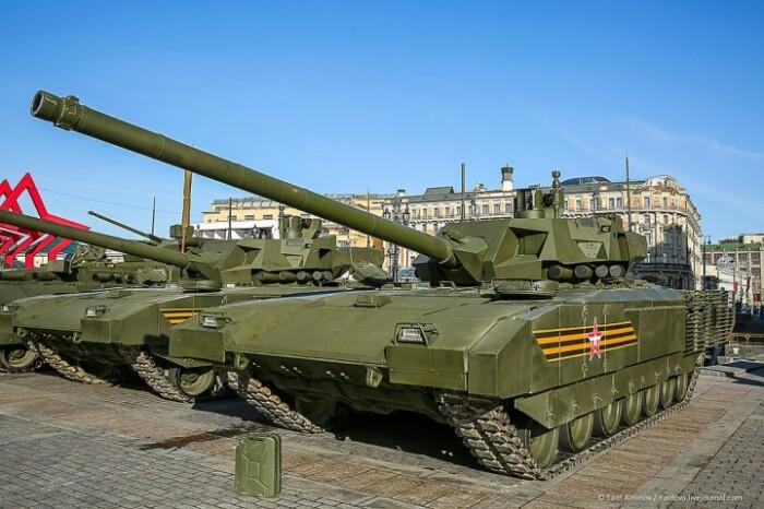 Армата - новейший танк. /Фото: livejournal.com.
