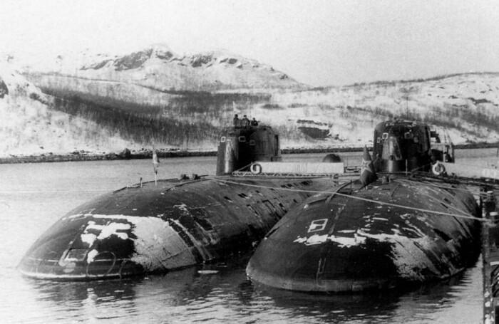 Барракуда стала развитием старых советских подлодок. /Фото: war-book.ru.