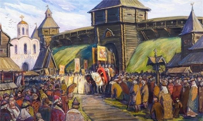 Древняя Русь была условно единым государством. /Фото: mirtesen.ru.