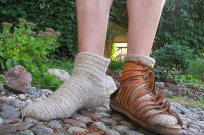 Римляне отлично знали носки. /Фото: historycy.org.