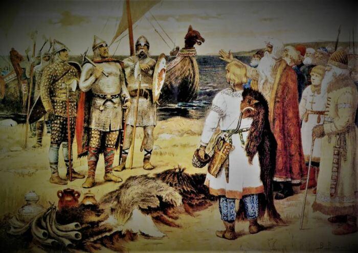 На Руси перемешались традиции разных народов. /Фото: ya.ru.