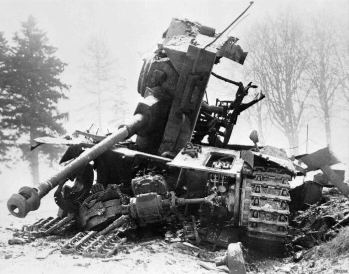 Такое может быть с любым танком. /Фото: m.fishki.net.
