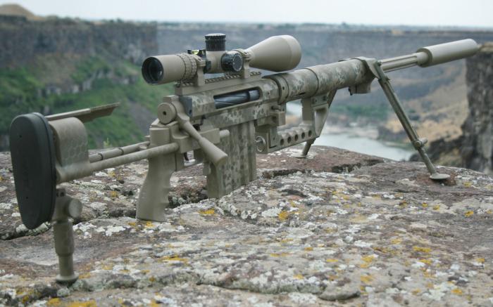 Chey Tac M200  - одна из лучших снайперских винтовок в мире. /Фото: ya.ru.
