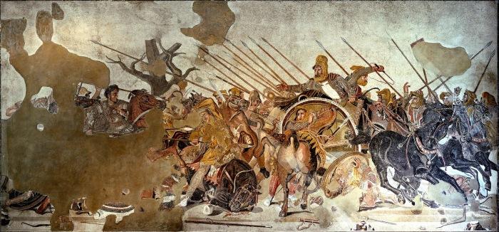 Битва при Иссе - одно из величайших сражений античности. /Фото: blogspot.com.