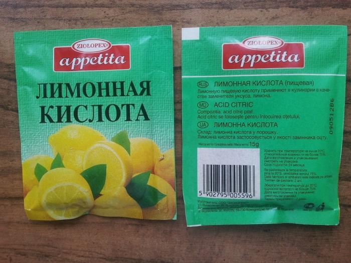 Используем лимонную кислоту. /Фото: toksikolog.com.