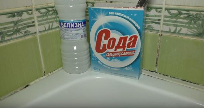 Сода и белизна - наши лучшие друзья. /Фото: youtube.com.