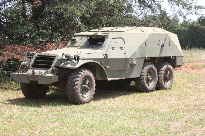 У БТР-152 была серьезная проблема с проходимостью. /Фото: bolshoyforum.com.