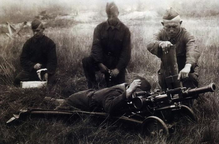 Первый советский гранатомет появился еще в 1930-е. /Фото: warspot.ru.