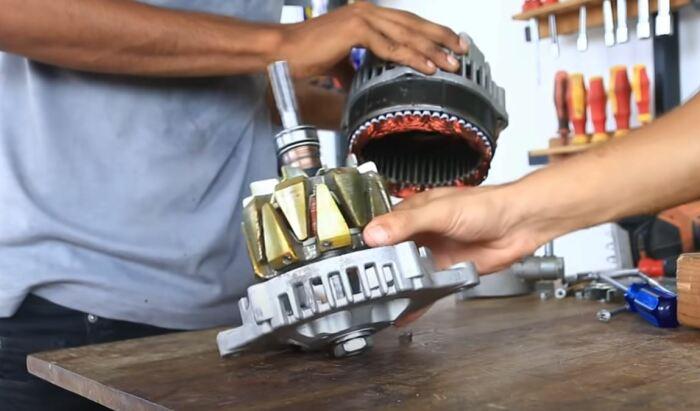 Переделывать генератор не нужно. /Фото: youtube.com.