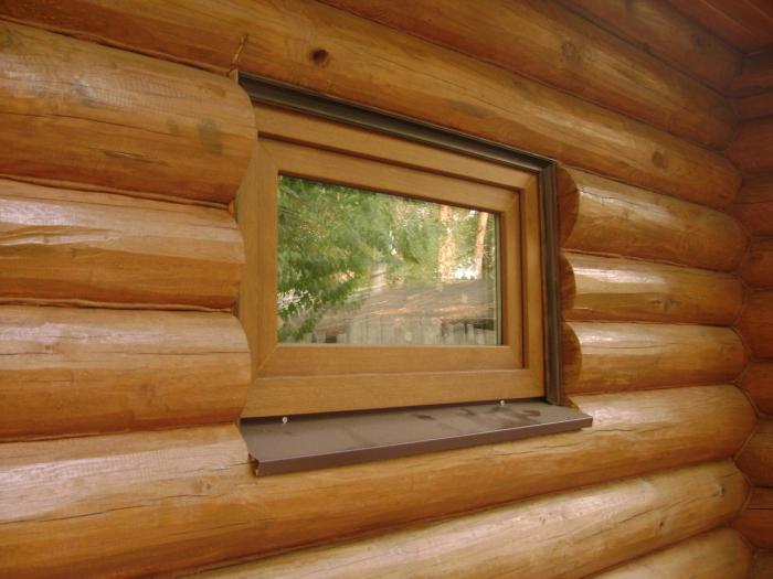 В парилке должно быть окно. /Фото: baniaisauna.ru.