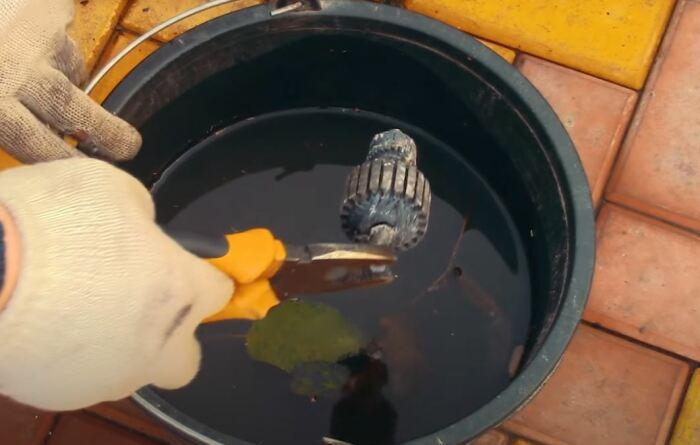 Как легко и быстро можно разобрать якорь двигателя на медь