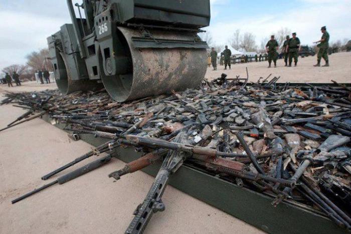 Что делают с многочисленным устаревшим оружием, которое уже снято с вооружения
