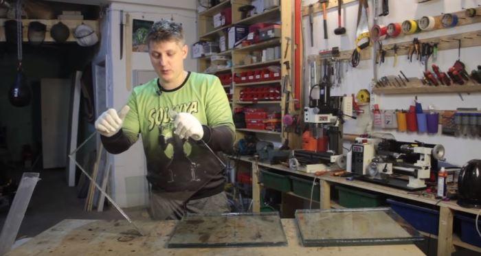 Можно склеивать слои. /Фото: youtube.com.