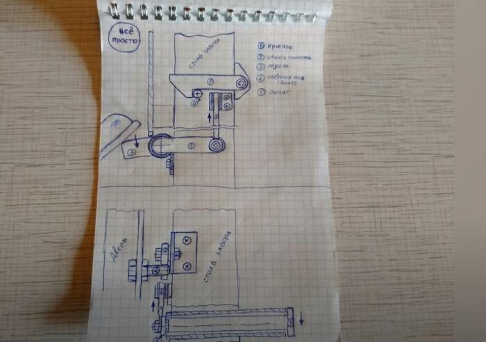 Схема сборки. /Фото: youtube.com.