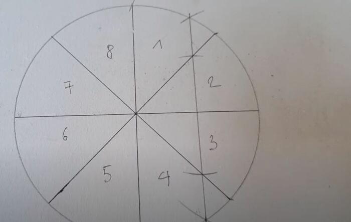 Далее делается схема. /Фото: youtube.com.