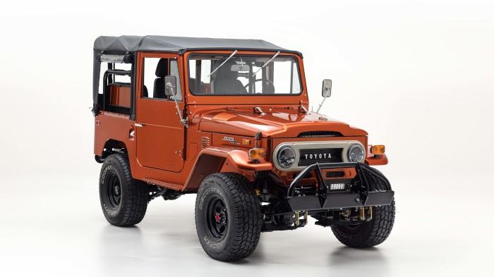 72 Toyota Land Cruiser FJ40, вдохновленный игрушечным грузовичком Tonka.