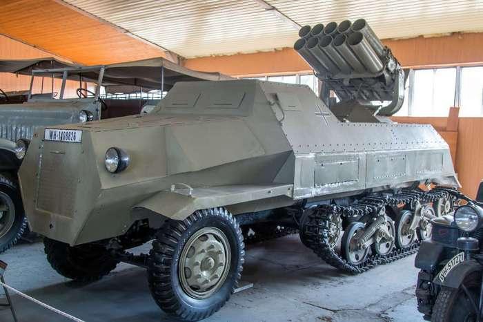 Немецкая Panzerwerfer 42 Auf.Sf. /Фото: wikimedia.org.