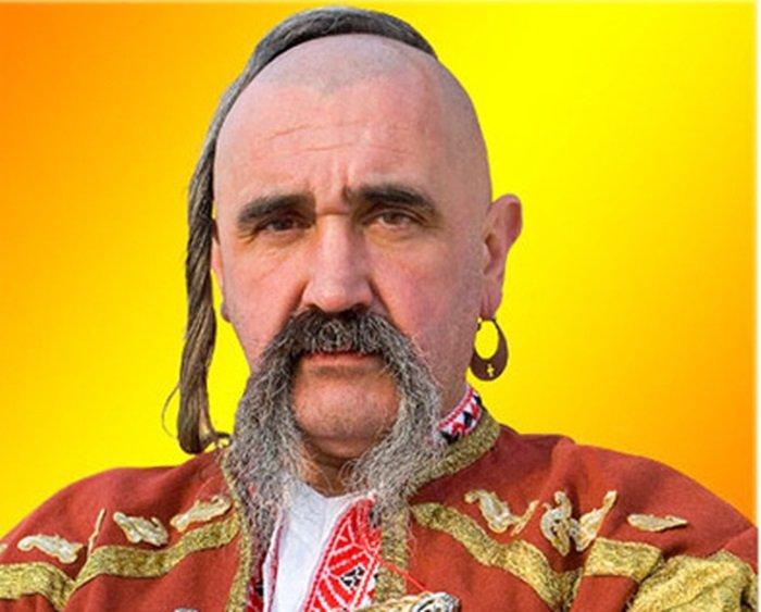 Казаки носили серьги с давних времен. /Фото: putin-news.ru.