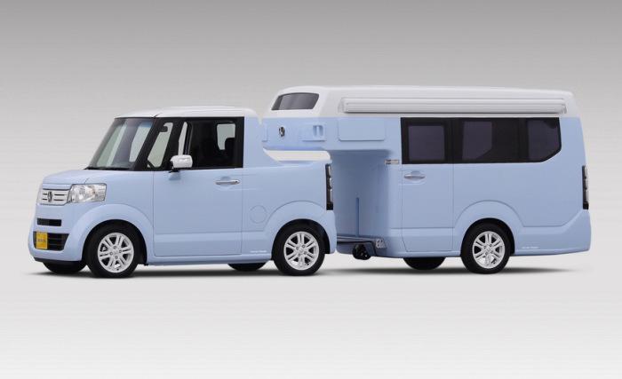 Японцами сделан Honda N-Camp для японцев.