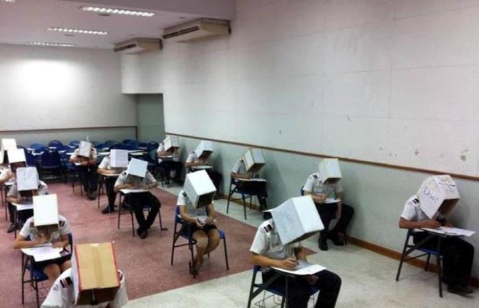 Суровые китайски экзамены.
