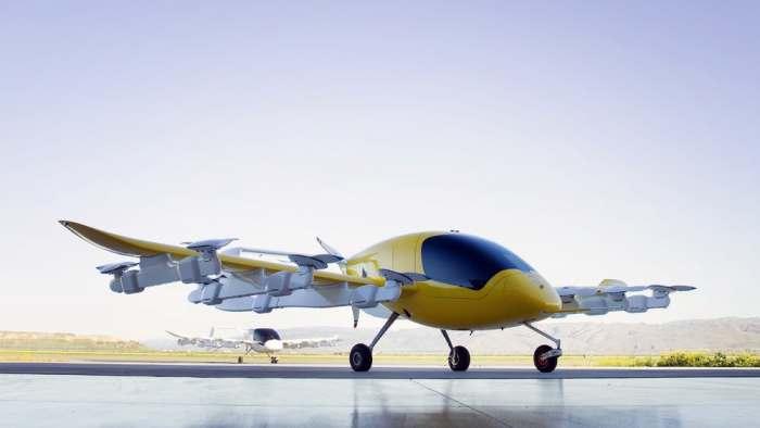 Воздушное такси Cora Hawk реальность.