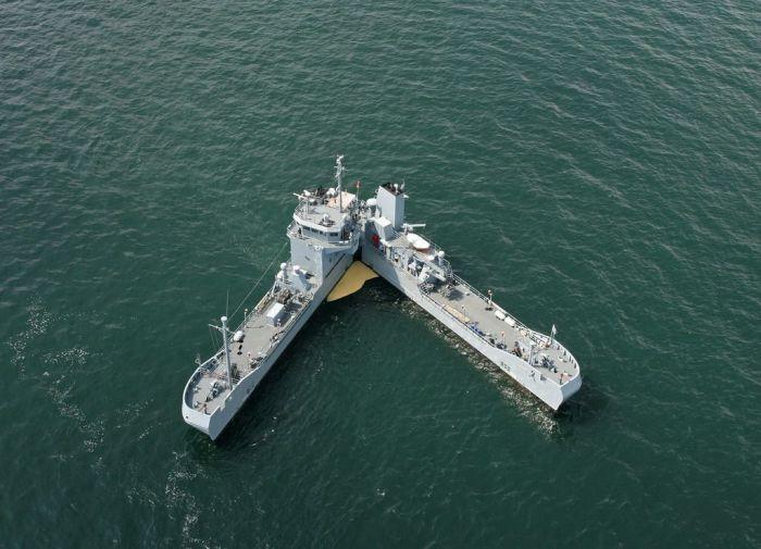 Вот так делает корабль. /Фото: pinterest.ru.