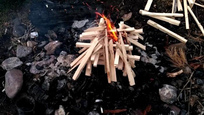 Березовые дрова - это хорошо. /Фото: youtube.com.