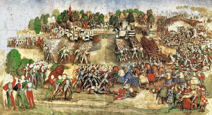 Переосмысление фортификации началось в Италии. /Фото: 4archive.org.